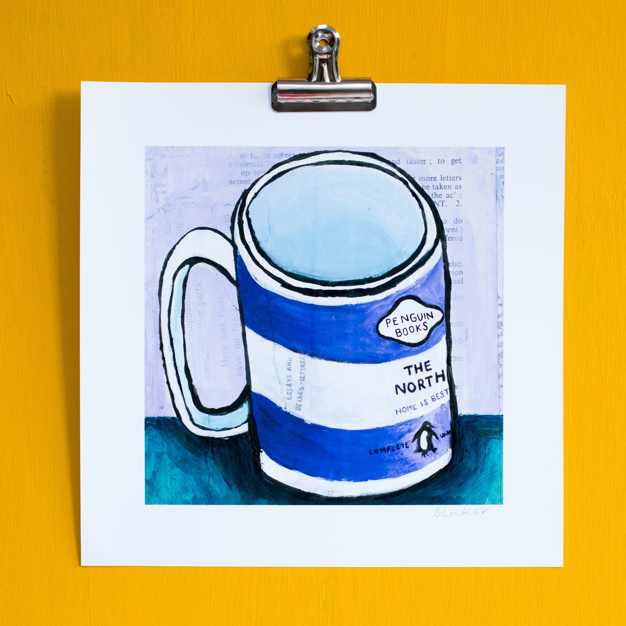 The North- Penguin Mug Print