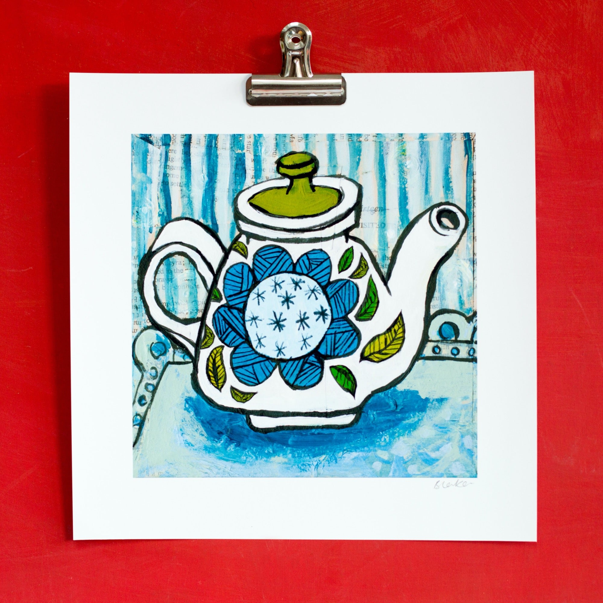 Meakin Inspired Teapot