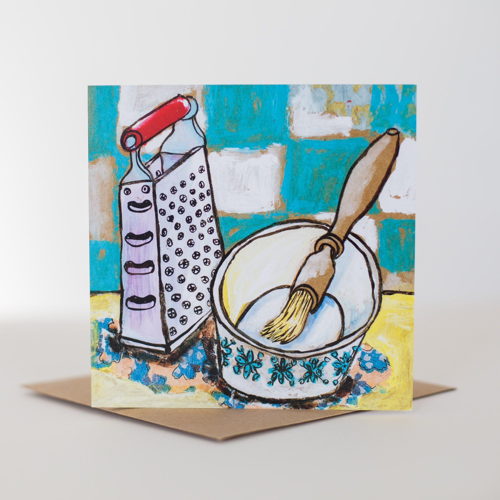 Baking Themed Greetings Card