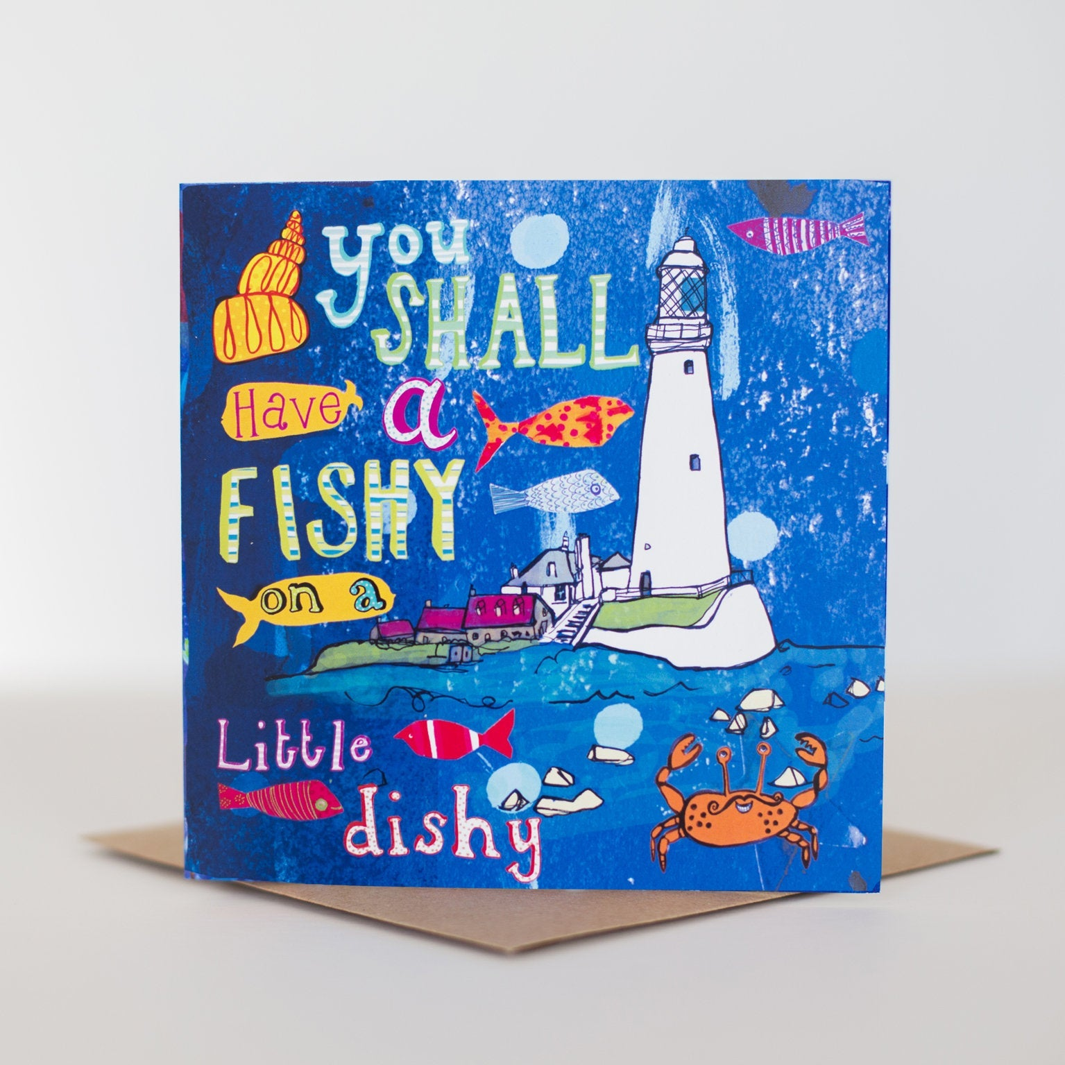 'You Shall Have a Fishy...' Greetings Card