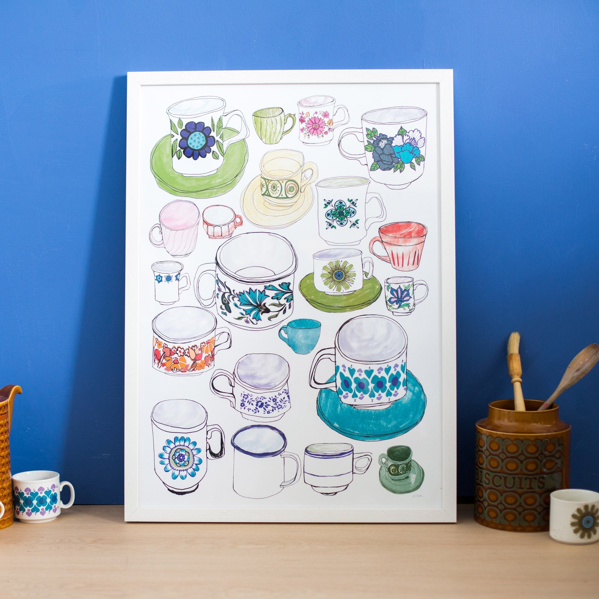 'Fill Your Cups' Print Poster