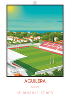 stade Aguilera fans rugby