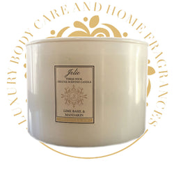 Organic  Soy Candle Deluxe - Three Wick