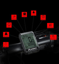 Load image into Gallery viewer, Cyclowiz Waterproof Bicycle Computer Wireless And Wired MTB Bike Cycling Odometer Stopwatch Speedometer Watch LED Digital Rate