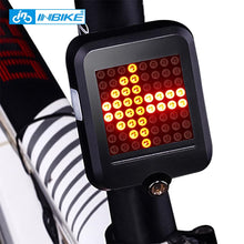 Load image into Gallery viewer, Cyclowiz Bicycle Light Automatic Dirction Indicator Taillight  bisiklet aksesuar USB Charging Mountain Bike Safety Warning Light
