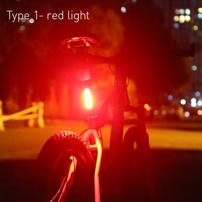 Cyclowiz Bike Light Bicycle Taillight Bike Accessories bisiklet aksesuar Waterproof Riding Rear light Led USB Chargeable MTB Bike