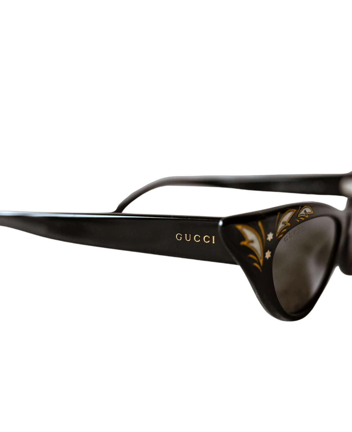 Gucci Cat Eye Brille mit Verzierung