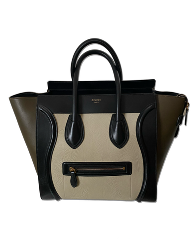 CELINE LUGGAGE TRI-COLOR