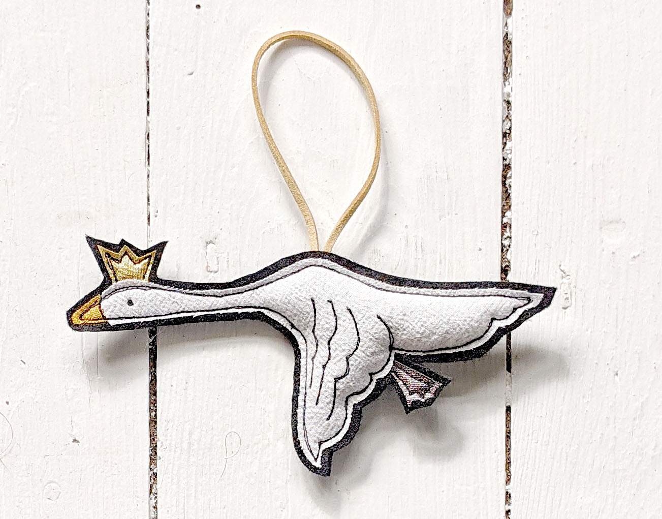 Flying Goose Christmas Tree Decoration