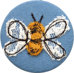 Load image into Gallery viewer, Bee badge
