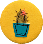 Load image into Gallery viewer, Cactus badge