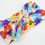 Children's baby print cross hair band Photo shoot headband wholesale New simple bohemian fashion hair accessories