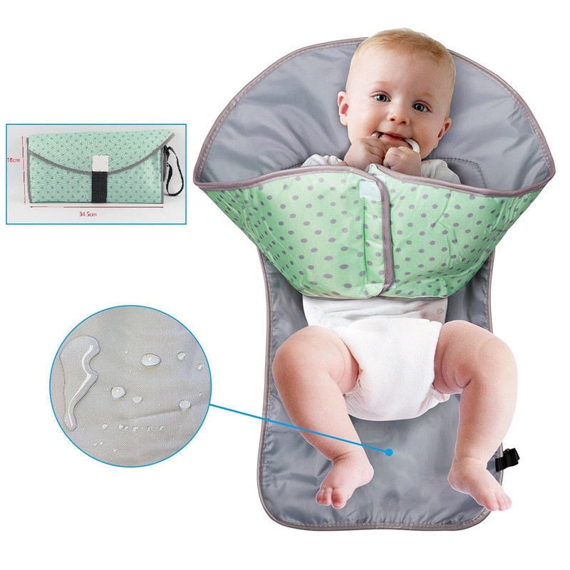Babyified 3-in-1 Portable Diaper Changing Pad