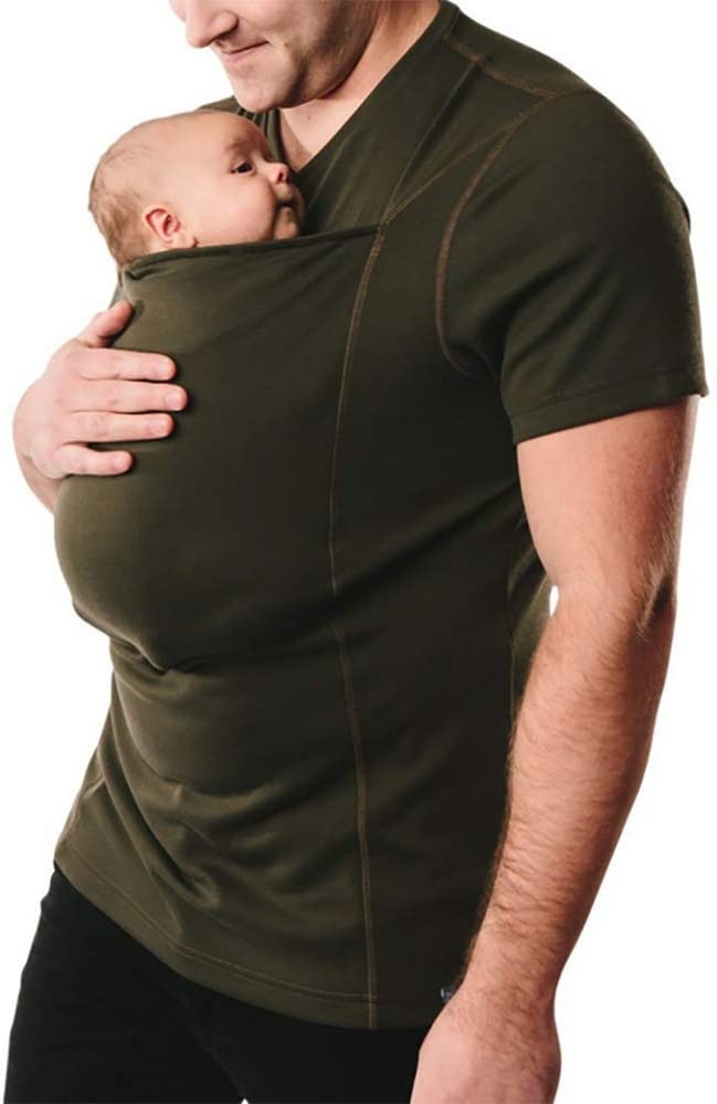 Babyified Carrier Pocket Super Dad T-Shirt
