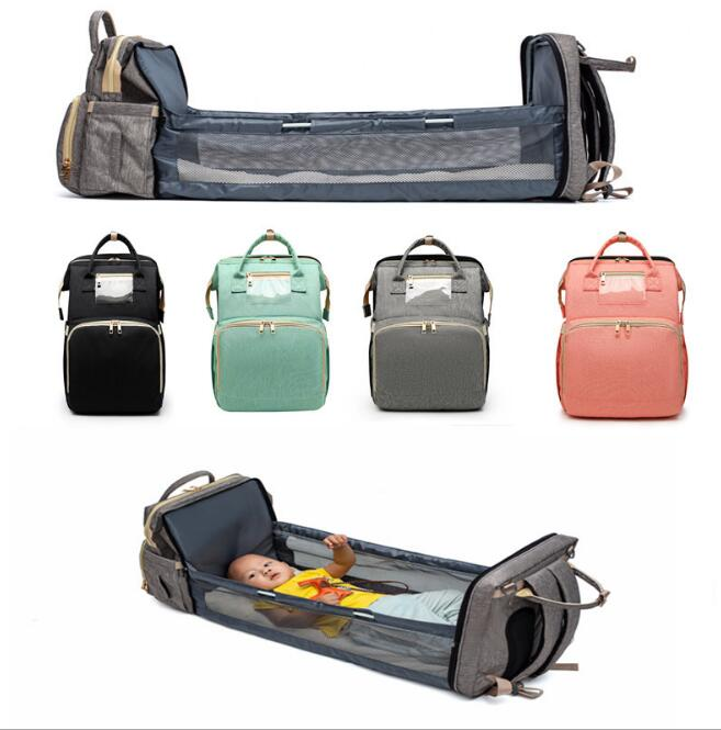 Babyified 2 in1 Super Mom Foldable Crib Bag