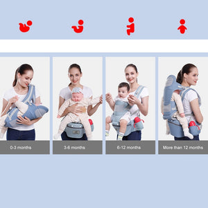 Babyified 3 in 1 Ergonomic Baby Carrier
