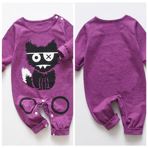 Babyified Cute Cat Cartoon Sleep Suit Babyified Apparels eprolo