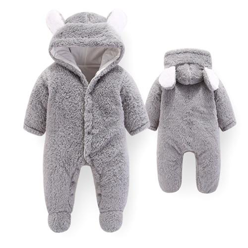 Babyified Winter Suit for Your Super Kid Babyified Apparels eprolo Gray 3-6 Months