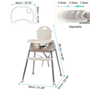 Babyified Multi-functional feeding High Chair