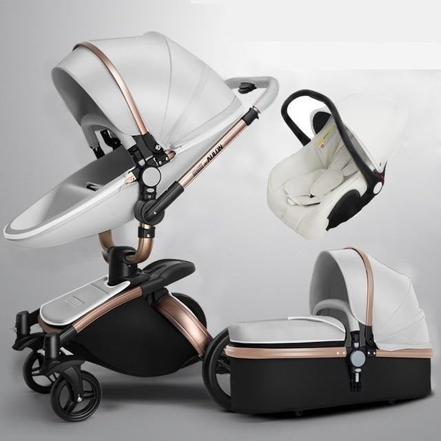 Babyified 3in1 Luxury Stroller