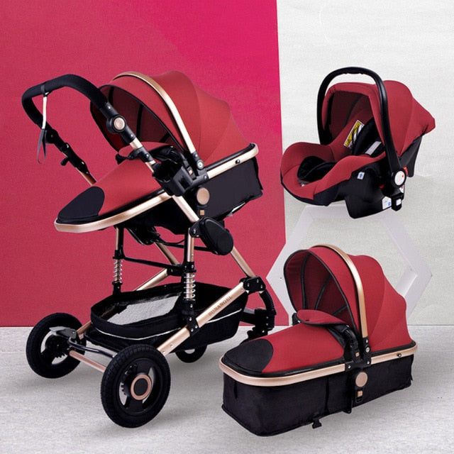 Babyified 3in1 Multi-functional Luxurious Stroller