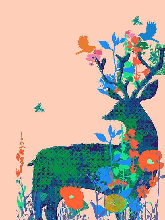 Deer Love Forests Unlimited Print