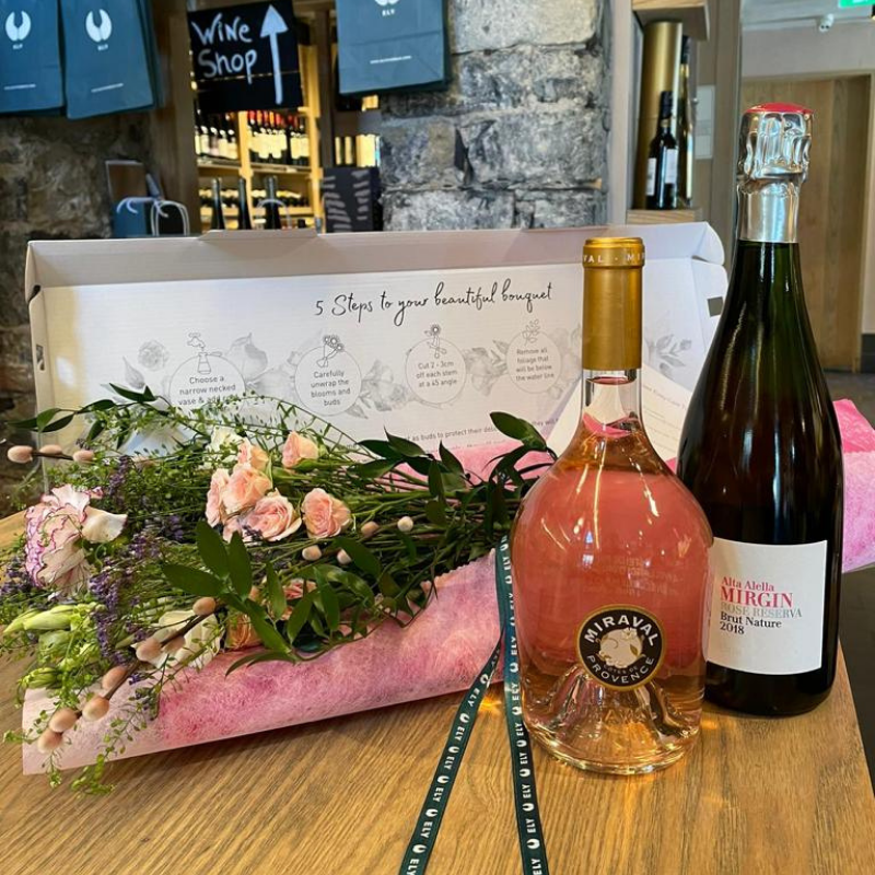 Rosé & Bouquet Box