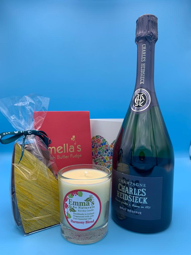 Mother's Day Gift Box - Charles Heidsieck Champagne
