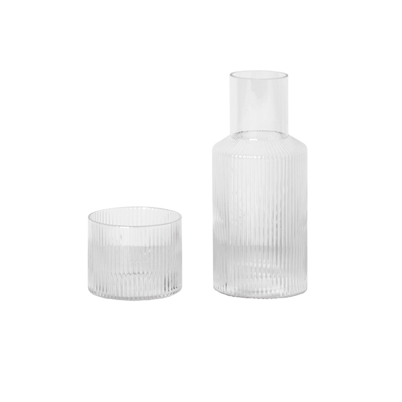 Ripple Carafe Set