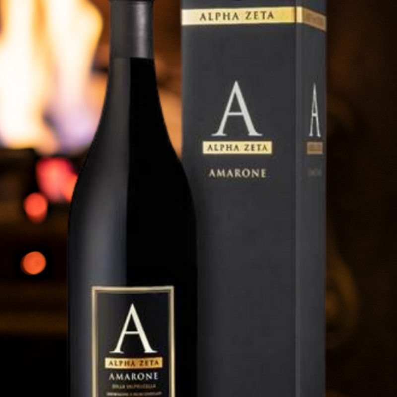 Alpha Zeta 'A' Amarone 2017 Gift Box