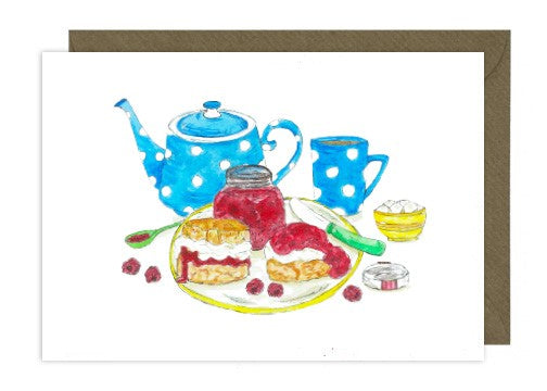 Greeting Card 'Tea Party'