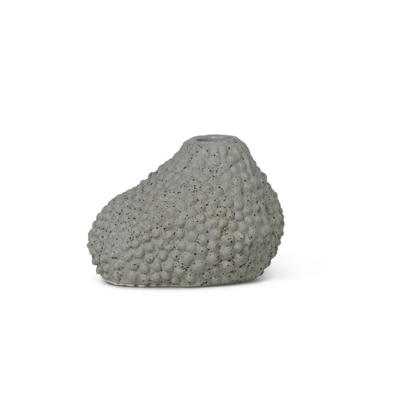 Vulca Mini Vase - Grey Dots