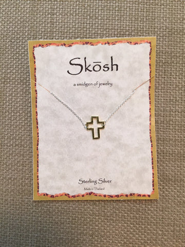 Skosh Open Cross Necklace