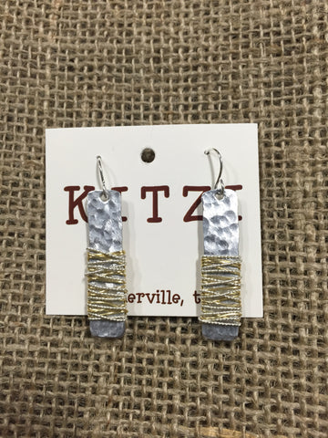 Kitzi Hammered Earring