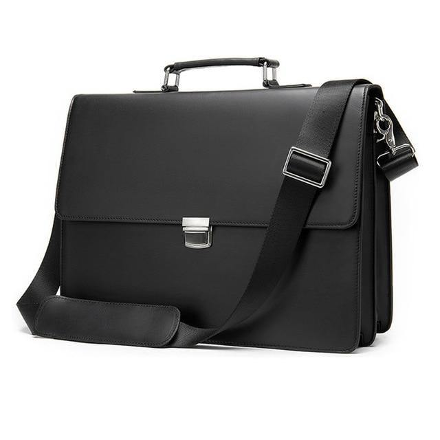 ADEAN Genuine Leather Briefcase
