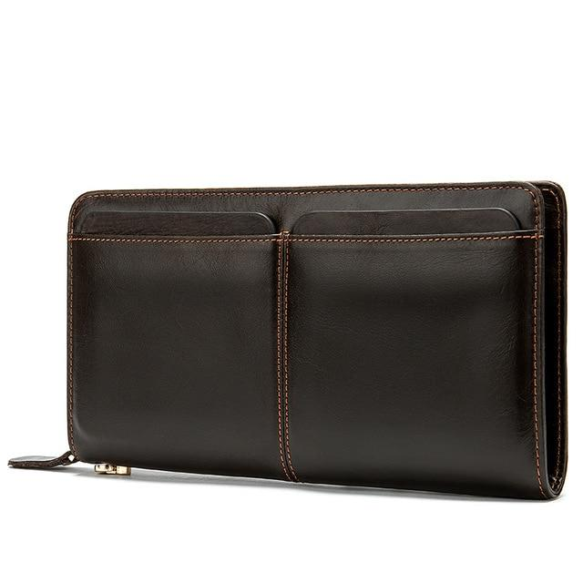 AIGOS Genuine Leather Wallet - VINNALEA