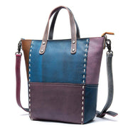 CARRA Genuine Leather Tote With Zipper