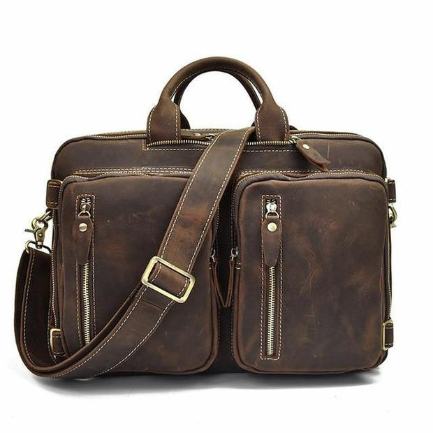 CHAG Genuine Leather Briefcase
