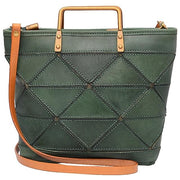 CYNDRA-Genuine-Leather-Handbag-Green