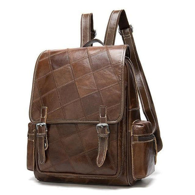 DANA Genuine Leather Quilted Backpack