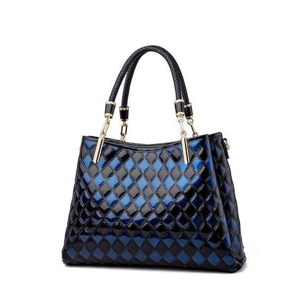DARLA Genuine Leather Quilted Handbag