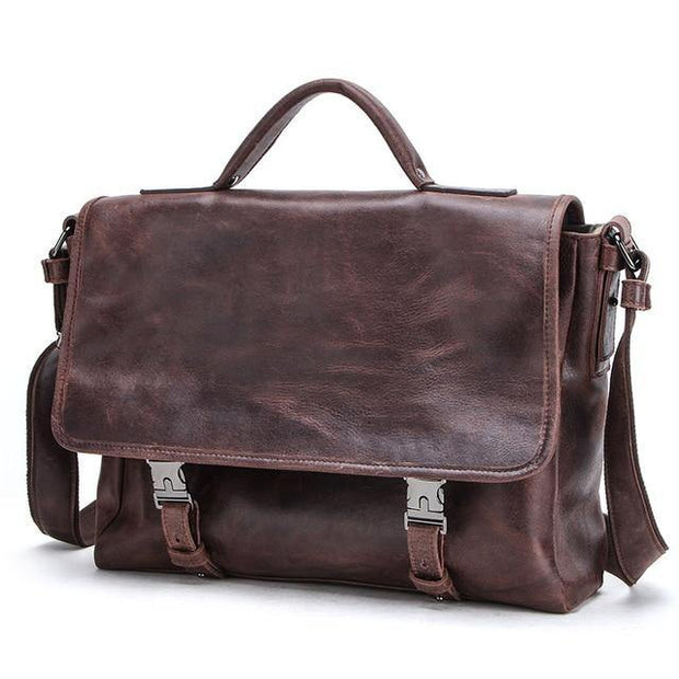 DENNY Genuine Leather Briefcase