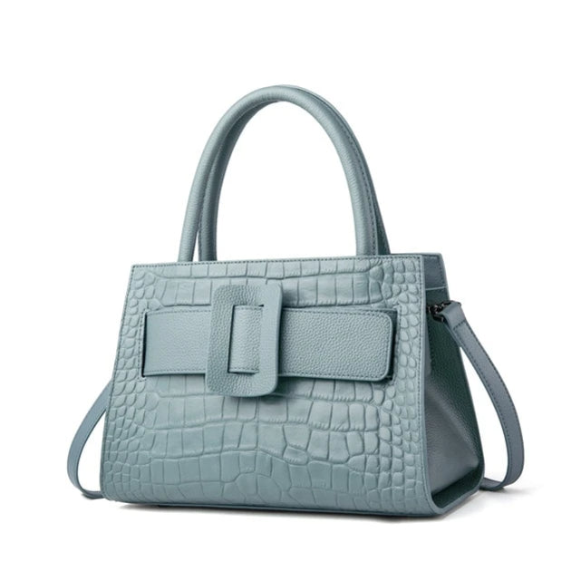 DIFENA Genuine Leather Handbag
