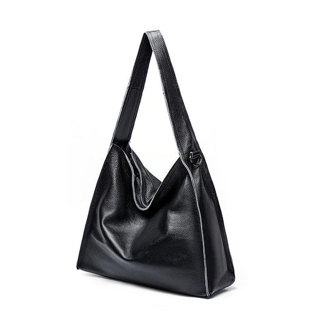 ECIA Genuine Leather Hobo Handbag