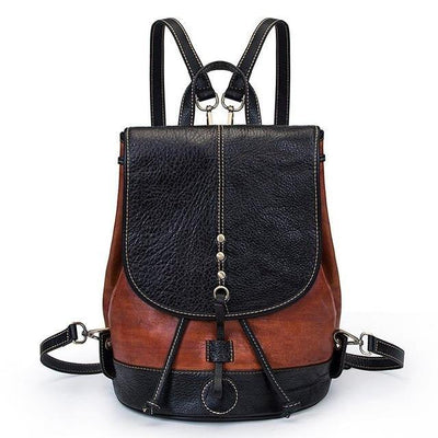 EZERA Vintage Genuine Leather Backpack