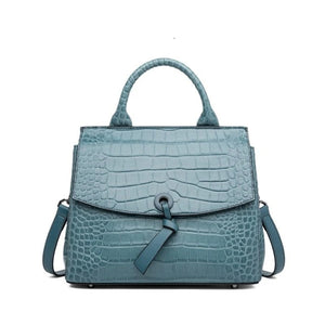 Open image in slideshow, JEYRA-Genuine-Leather-Handbag-Green