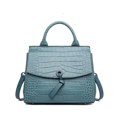 JEYRA Genuine Leather Purse Handbag-Green