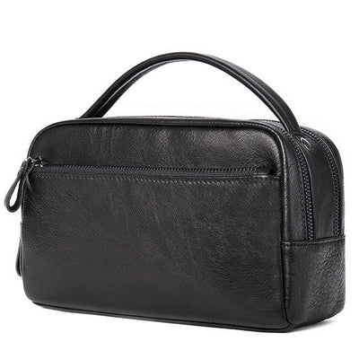 KAEN Genuine Leather Dopp Kit