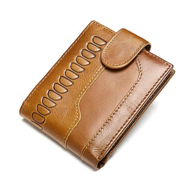 LOMAN Genuine Leather Wallet