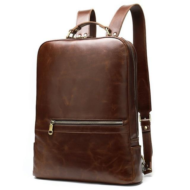 LUCIO Genuine Leather Backpack